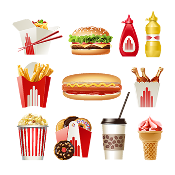 Chinese food png images. Dinner vector flyer design svg library library