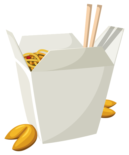 Chinese food box png