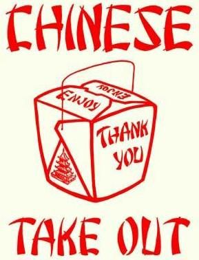 Take out image carton. Chinese clipart takeout chinese graphic library