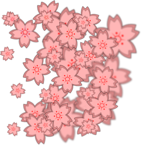 Asian vector flower chinese. Design clip art at