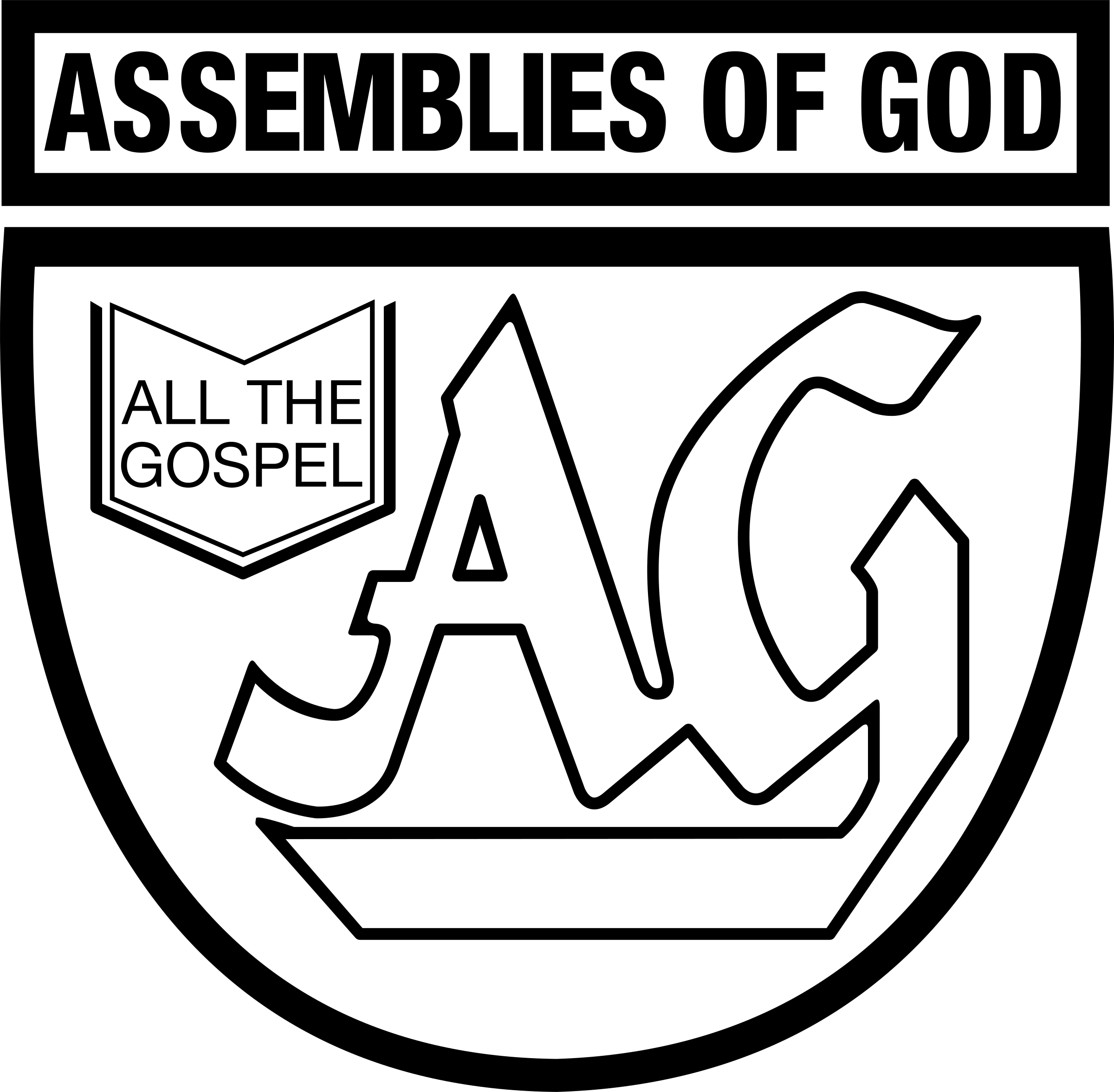 Assemblies of god logo png. Transparent svg vector freebie