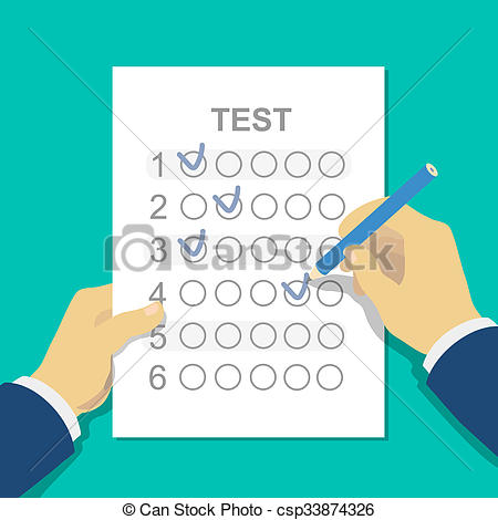 Assessment clipart pencil. Answers to exam test image library library
