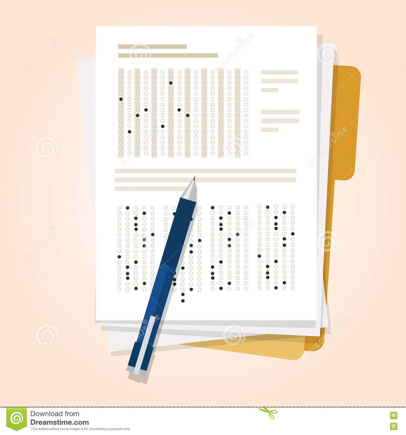 Assessment clipart pencil. Exams quiz test paper jpg library