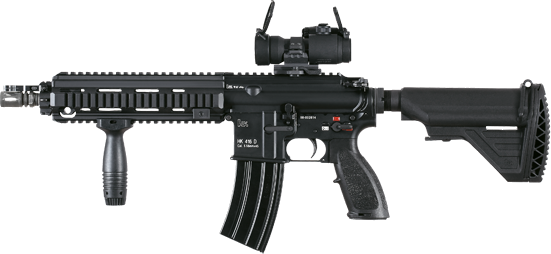 Assult rifle png. Assault fifty three isolated