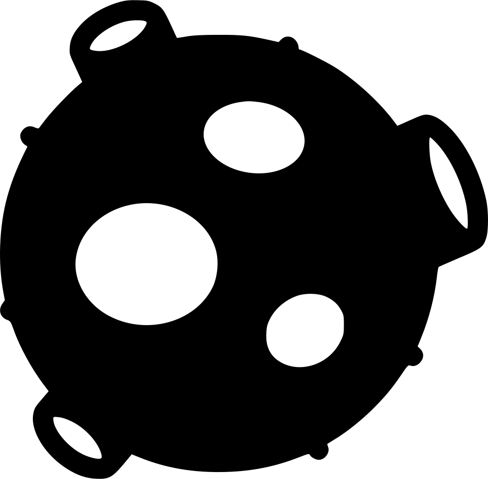 asteroid clipart svg
