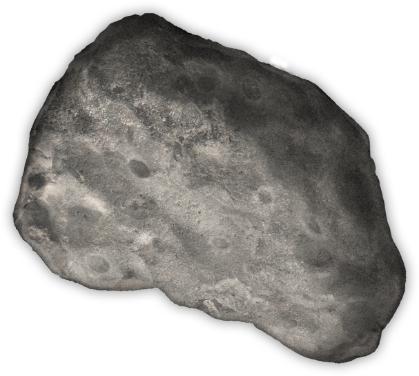 Transparent rocks asteroid. Challenge asteroids national geographic