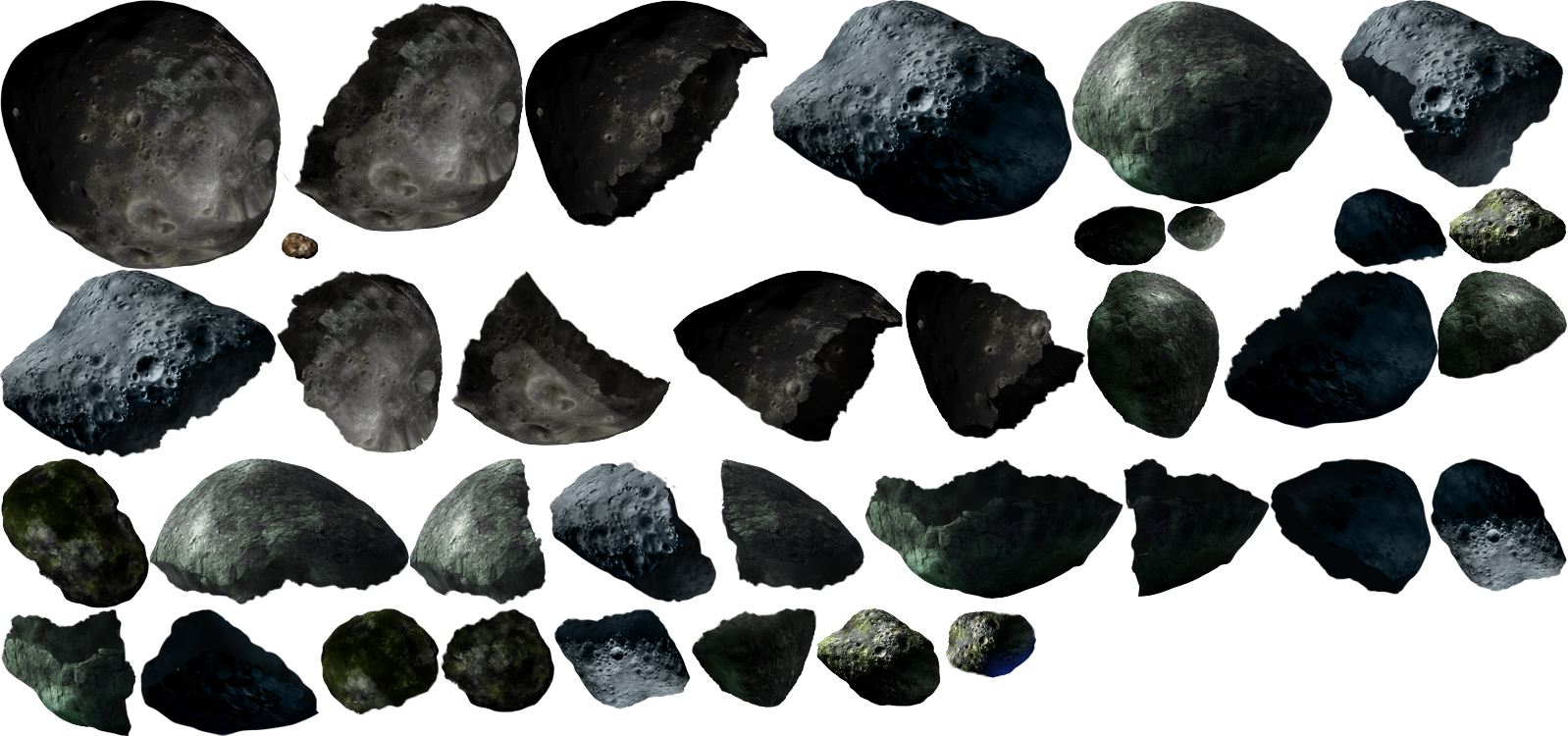 pixel asteroid png