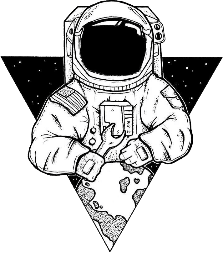 Astronaut art png. Artwork transparent background search