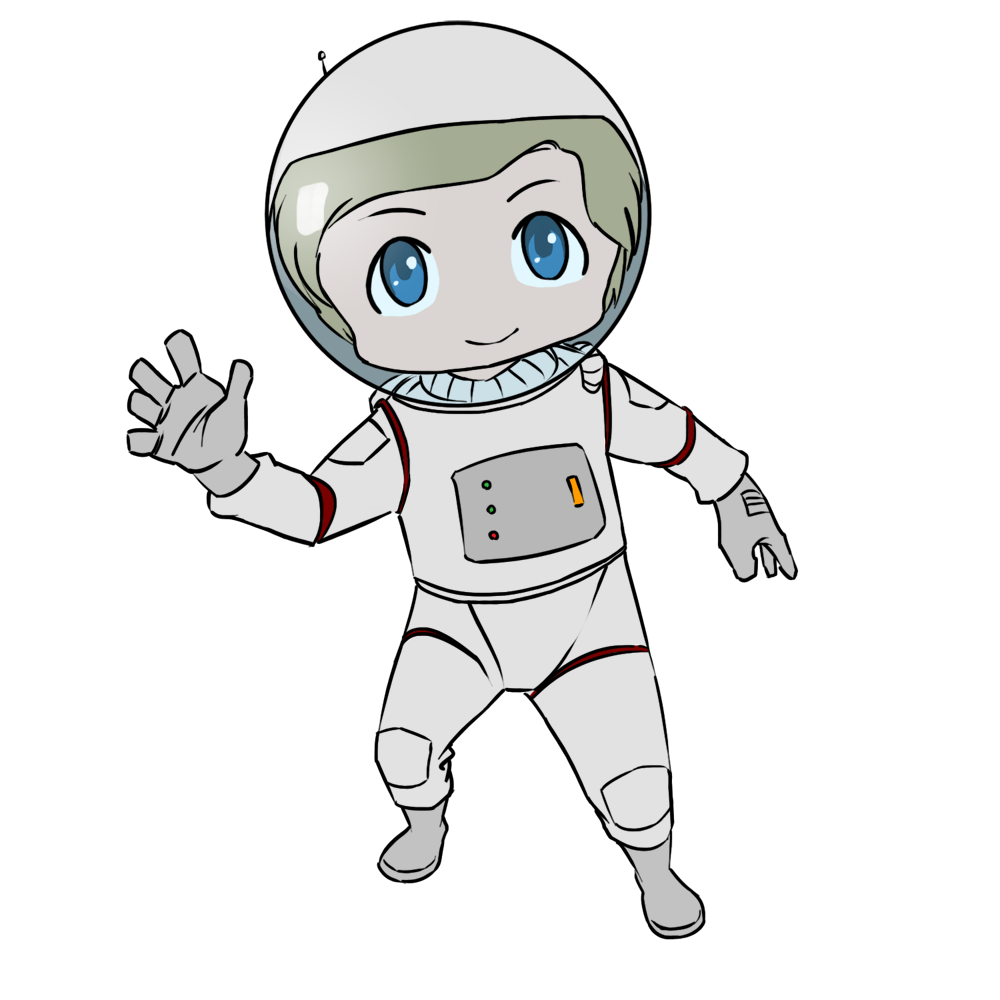 Astronaut clipart body. Free astronauts cartoon download