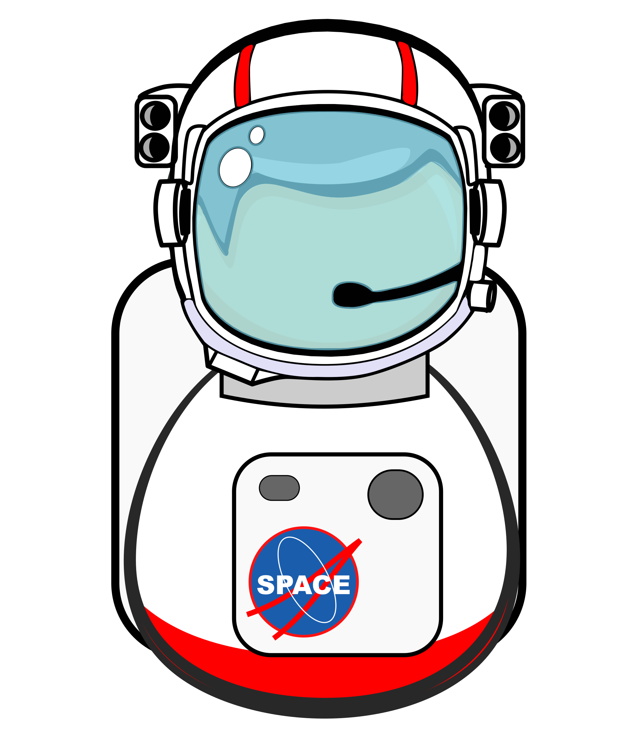 Astronaut clipart body. Big image png