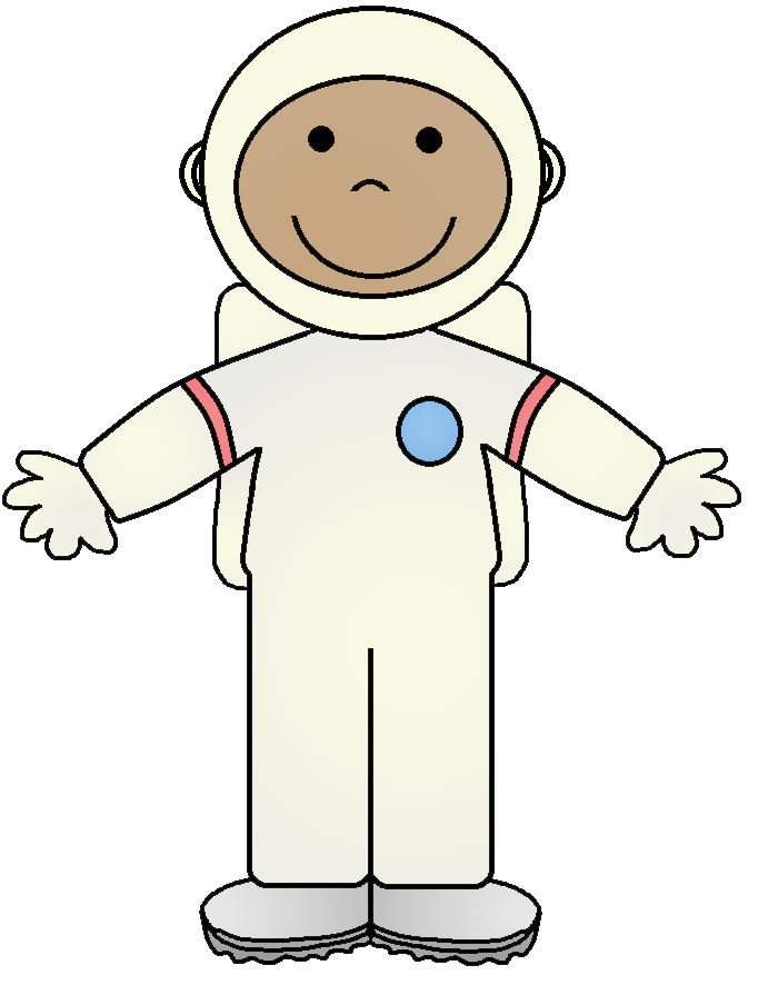 Astronaut clipart outfit cartoon. Free pictures of download