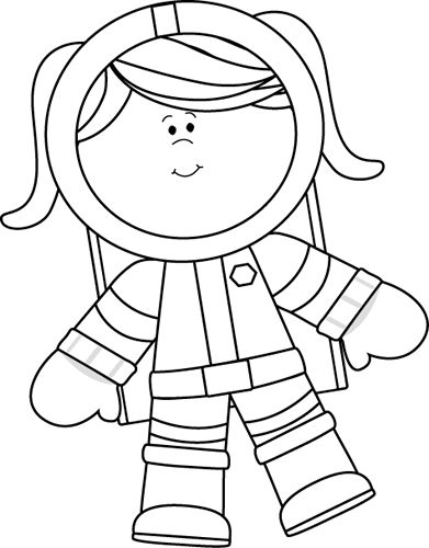 Astronaut clipart easy. Best space theme