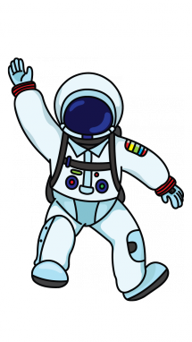 Astronaut clipart easy draw. How to an profession