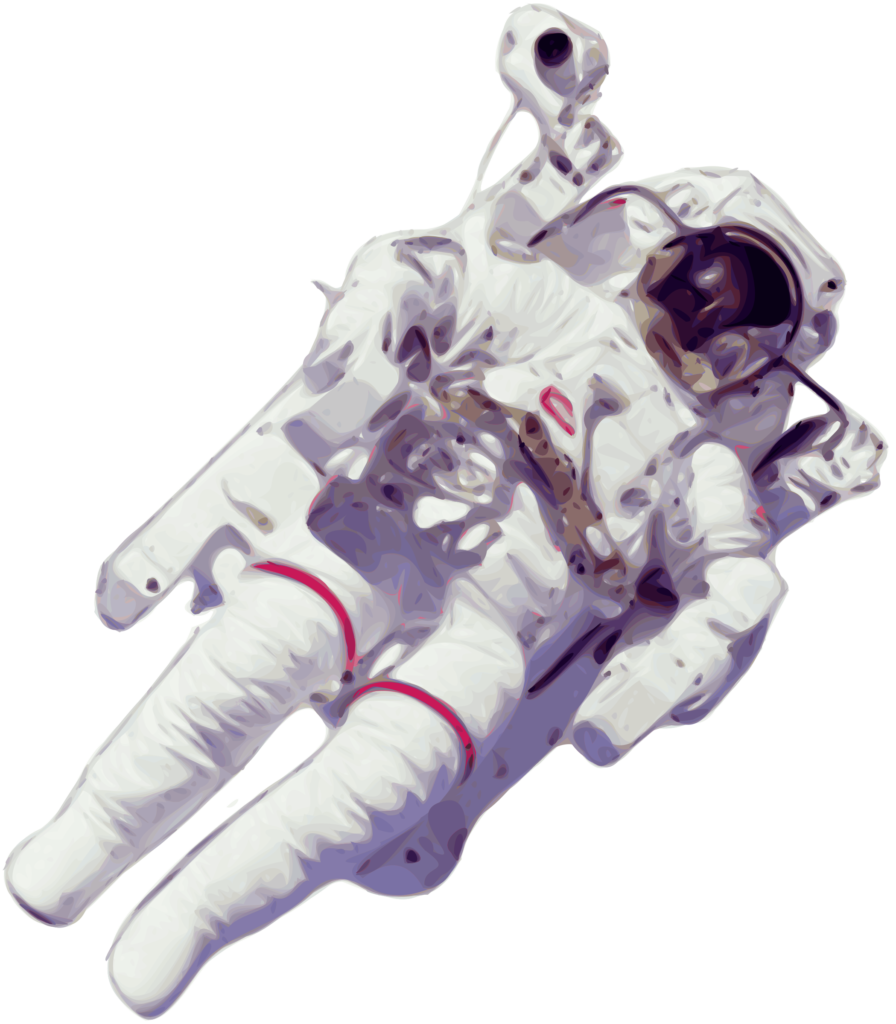 Astronaut vector png. Free transparent background download