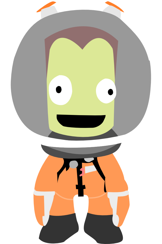Astronaut vector png. Kerbal by majorfish on
