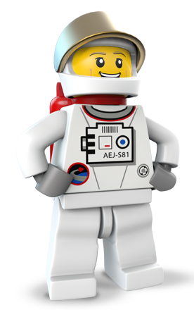 Astronaut with gun png. Image chase lego city