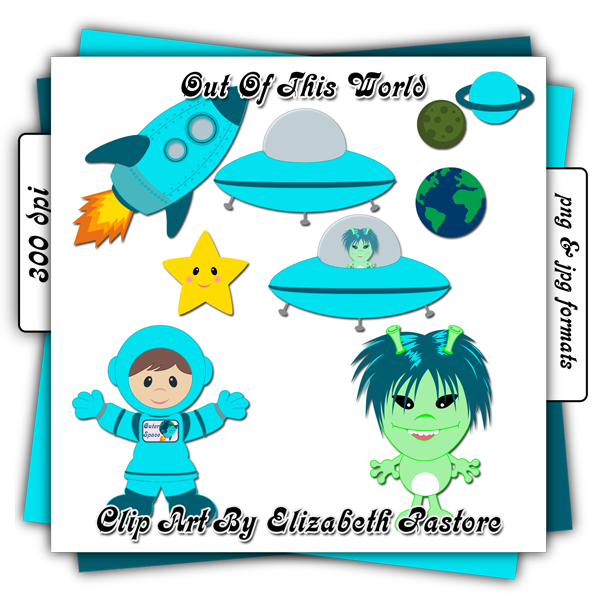 Planet clipart outter. Outer space clip art