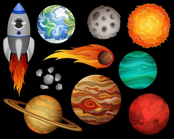 astronomy clipart space research