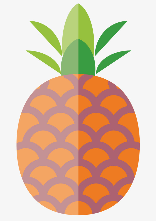 Asymmetric pineapple