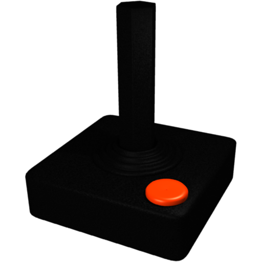 Atari controller png. Joystick dock icon by