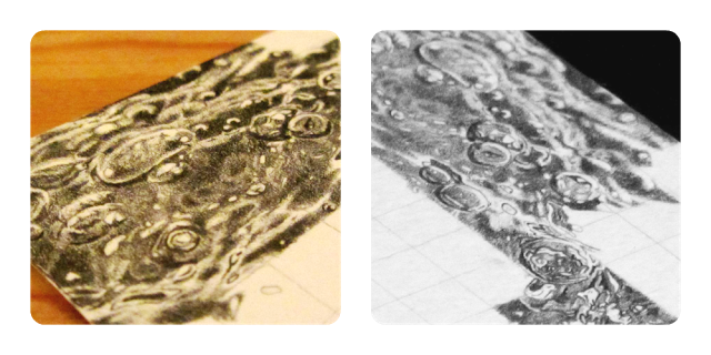 Footprints drawing water drop pencil. How to draw blog