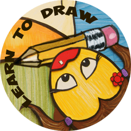 Atelier drawing step. How to draw two