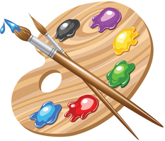 Vector paintbrush palette. Pin by divoscwill on
