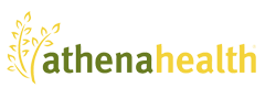 Athena health logo png. Strong womens powered by