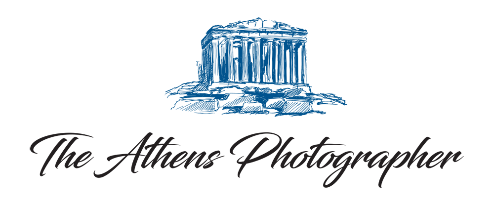 Athens drawing greece logo. The photographer find your