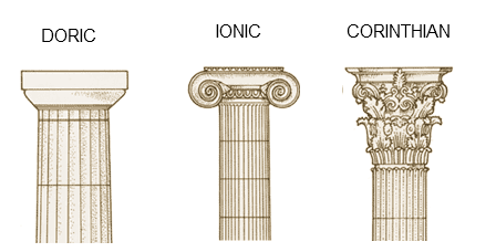 pantheon drawing structure