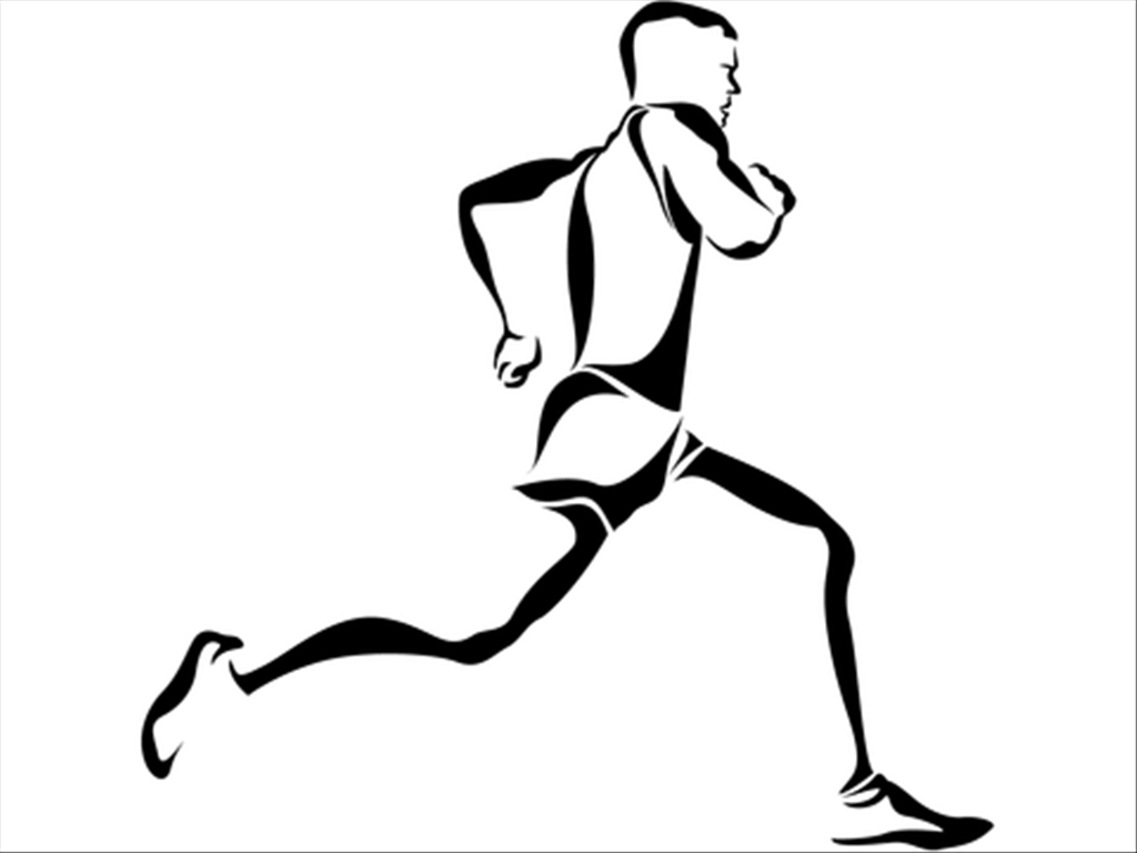 athlete drawing physical fitness