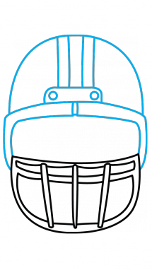Football images at getdrawings. Athlete drawing easy vector royalty free library