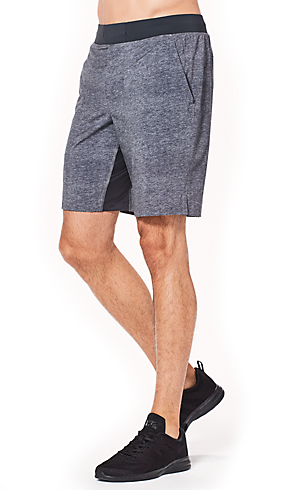 Drawing shorts clothing folds. Men s lululemon athletica
