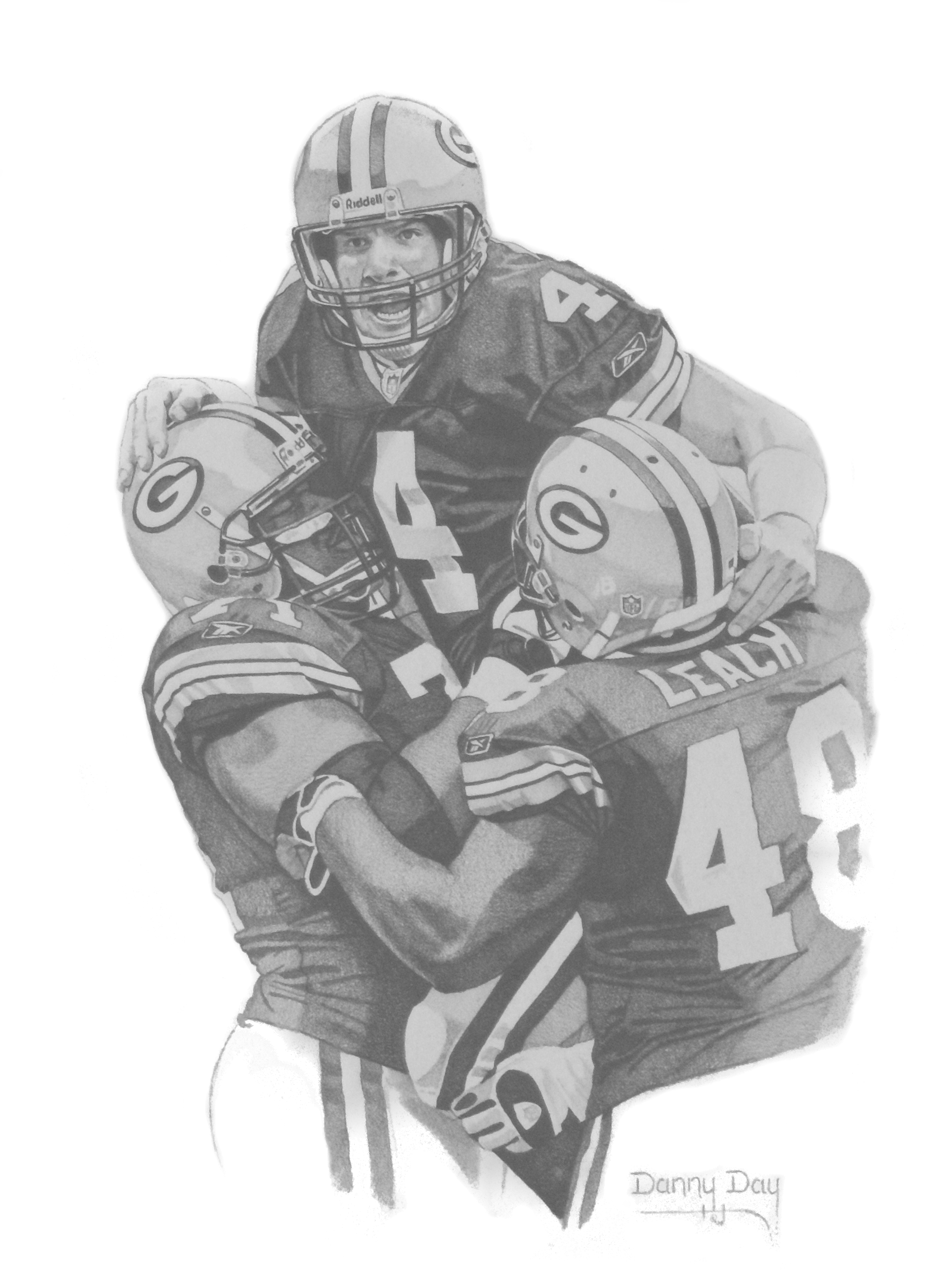 49ers drawing sport art. Danny day studio sports