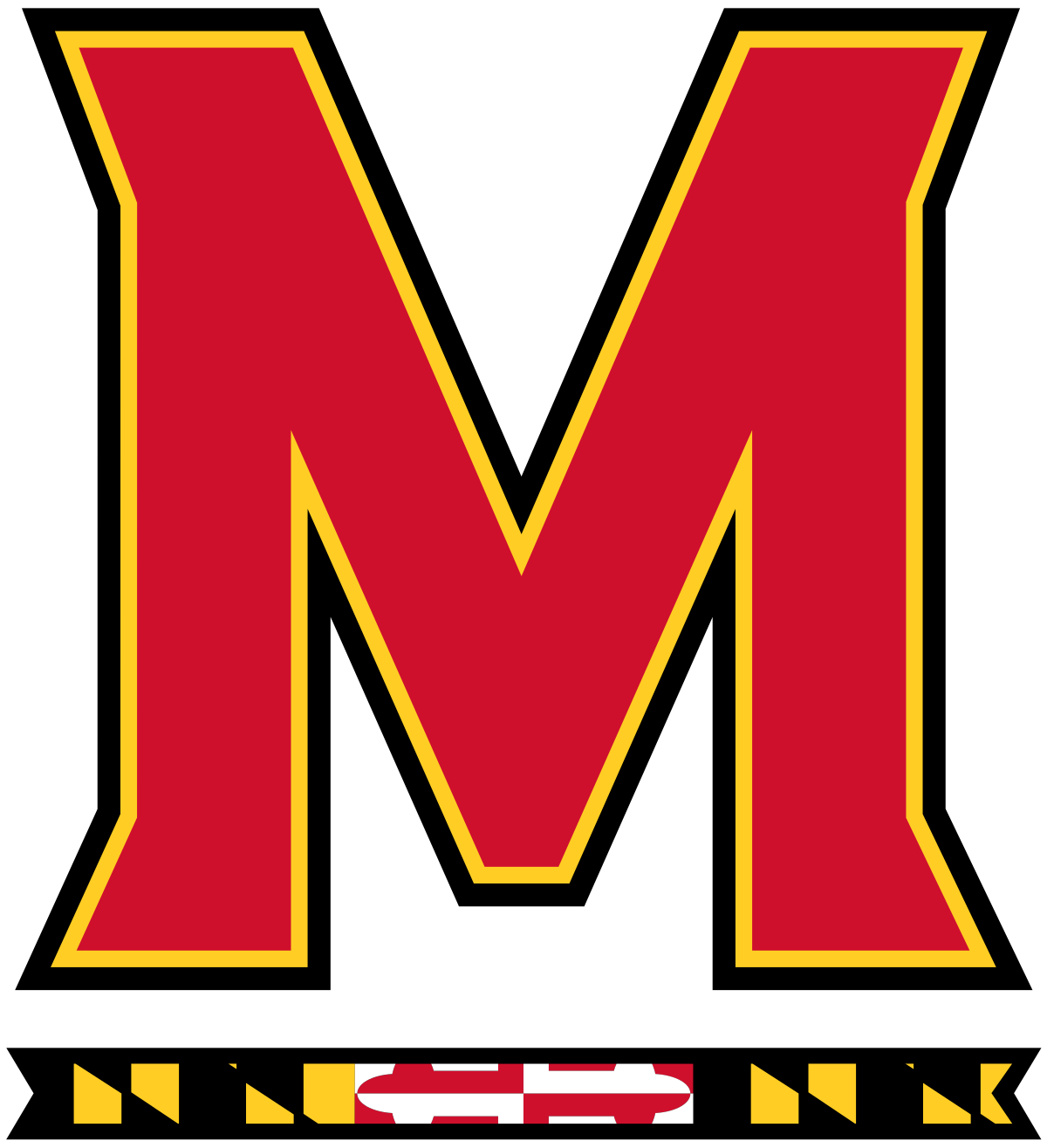 Maryland vector svg. Terrapins football wikipedia