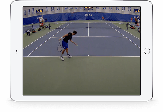 Drawing sport tennis. All in one technology