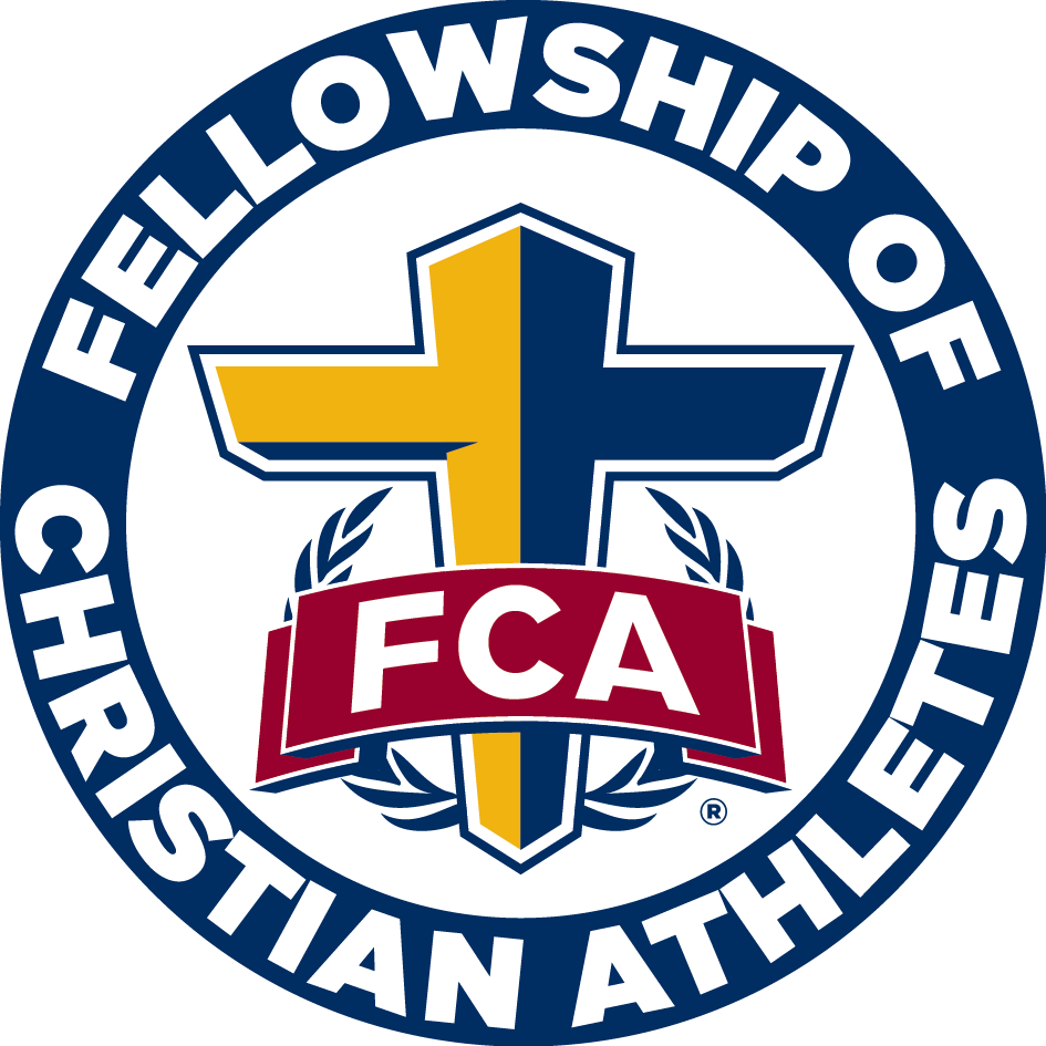 Athlete vector athletics background. Fca the heart and