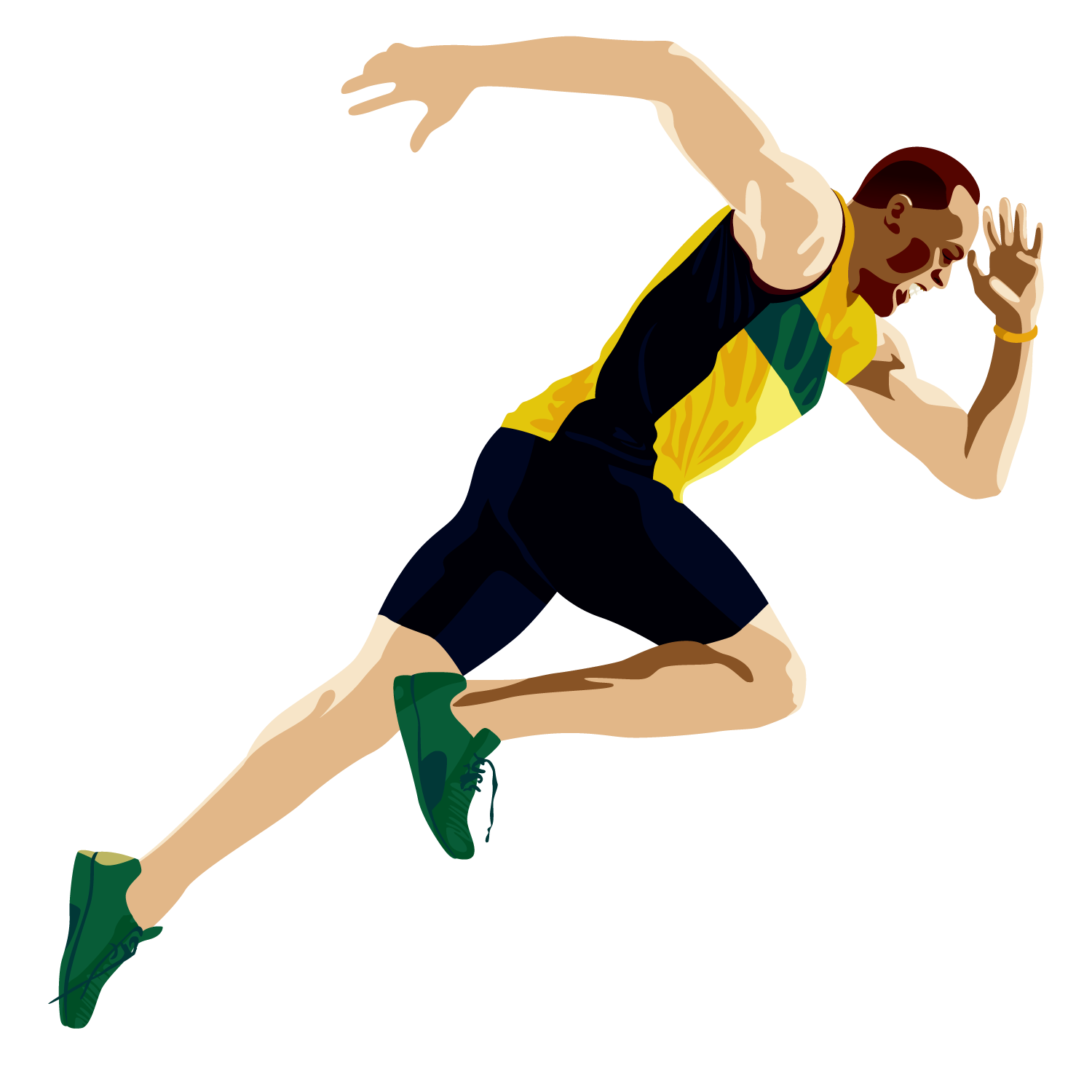 Athlete vector sport person. Man sports transprent png