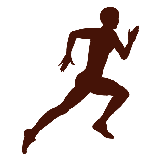 Athlete vector sprinting. Running sprint transparent png