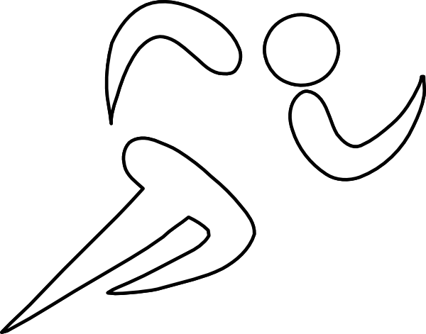 athlete drawing athletics