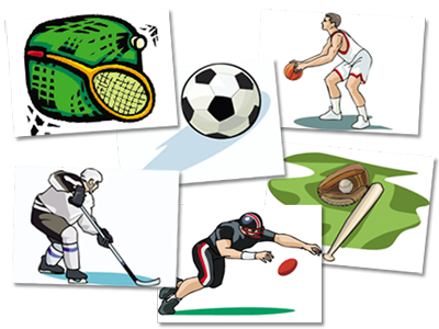Athletic clipart favorite sport. Sports software