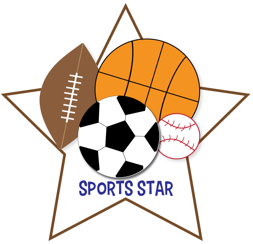 Athletic clipart favorite sport. Sports birthday