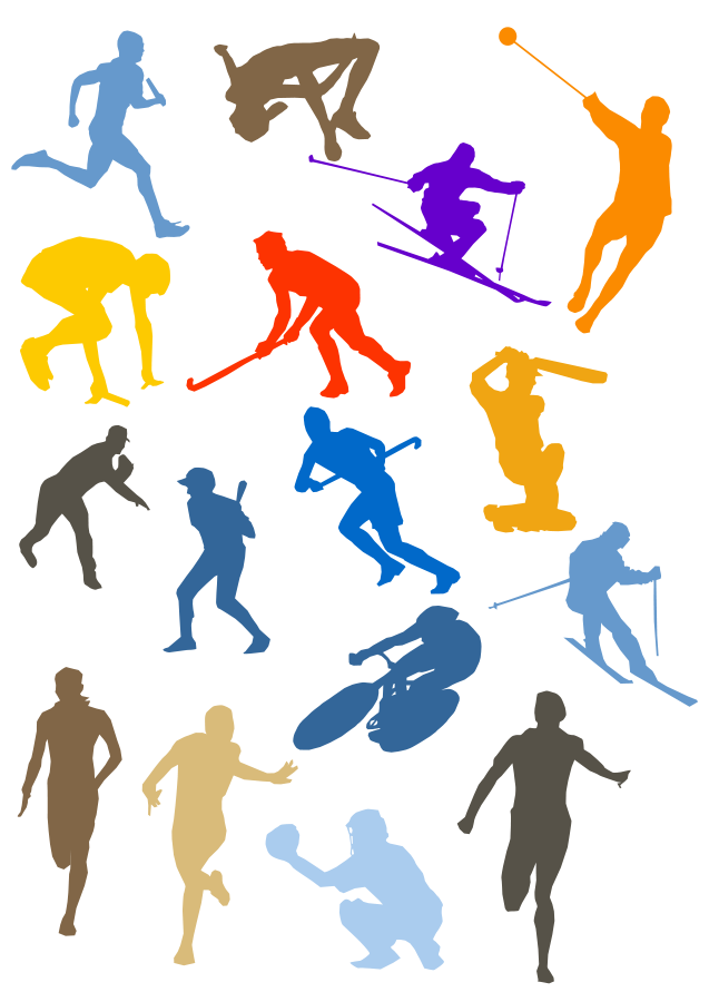 Athletic clipart favorite sport. Sports cliparts image