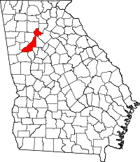 Atlanta drawing map. Fulton county georgia wikipedia