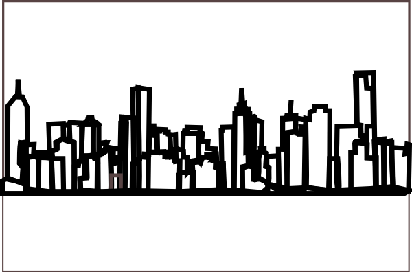 Atlanta drawing skyline orlando. Bethlehem silhouette at getdrawings