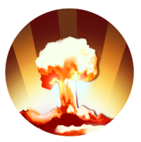 Transparent explosions atomic. Haechan cherry bomb clipart