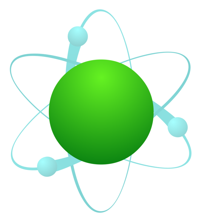 Chemistry clip compound. Chemical atom computer icons