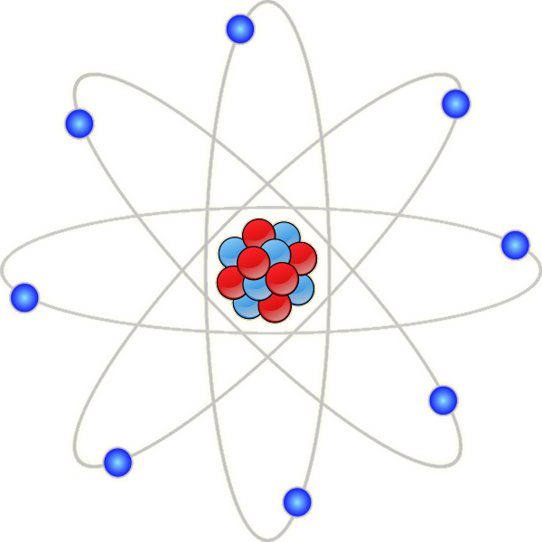 Transparent science chemistry. Atom clipart free image