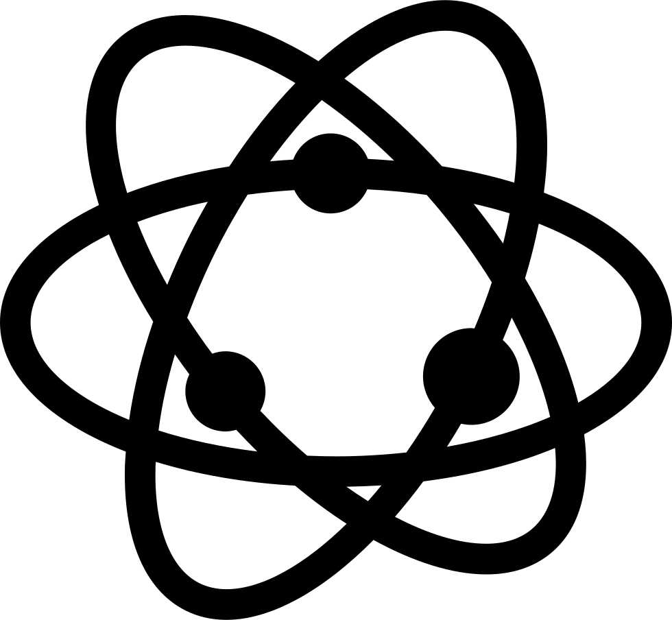 Atom symbol png. Svg icon free download
