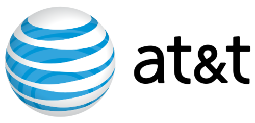 Partners of the dia. At&t logo .png image black and white